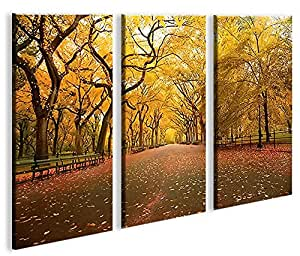 islandburner Extra Large Canvas Print Central Park New York City Modern Pictures Print Posters On Canvas