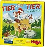 Haba 4051 - Tier auf Tier – Gipfelstürmer | Stapelspiel für 2-4 Personen mit 29 Holzteilen | Spielspaß für die ganze Familie mit einfachen Spielregeln | Spiel ab 4 Jahren