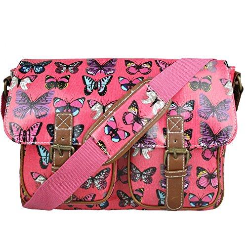 miss-lulu-damen-schultertasche-messenger-bag-retro-stil-eulen-baume-schmetterling-wachstuch
