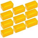 10compartimentos de Allit Europlus de 45/145/245/345/445/5, Gr. 2 Gelb