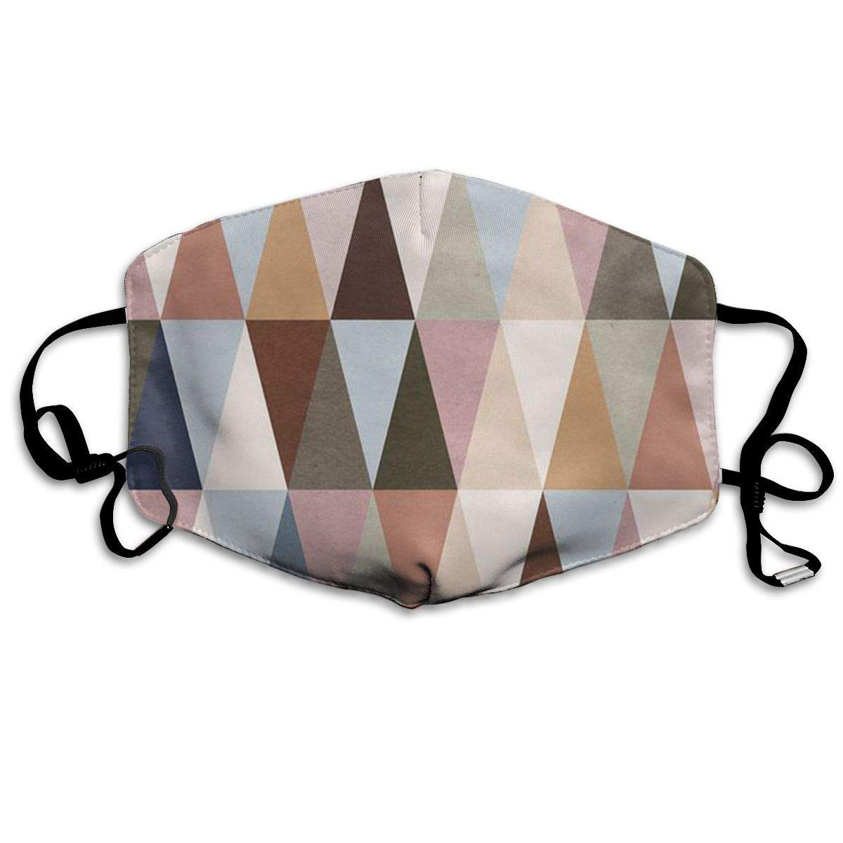 Daawqee Mascarillas, Earth Triangles Anti Dust Face Mouth Cover Mask Respirator Cotton Protective Breath Healthy Safety Warm Windproof Mask