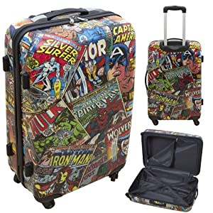 "Official Marvel Comics 24"" Wheeled Suitcase"
