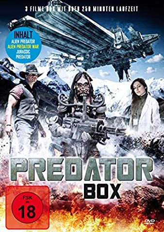 Predator Film Collection: Alien Predator - Alien Predator War - Jurassic Predator (Predator Filme)
