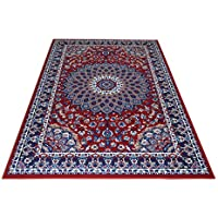 webtappeti royal shiraz 2082 red tapis motif classique persan rouge cm - Tapis 200x300