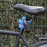 NEAN Zahlenschloss mit Stahlkettengliedern für Fahrrad und Motorrad Blau -