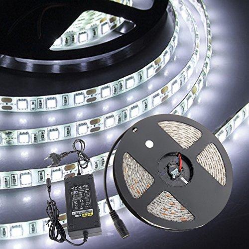 croled-striscia-led-bobina-5m-5050smd-300led-dc-12v-luce-bianco-impermeabile-adesivo-con-5a-alimenta
