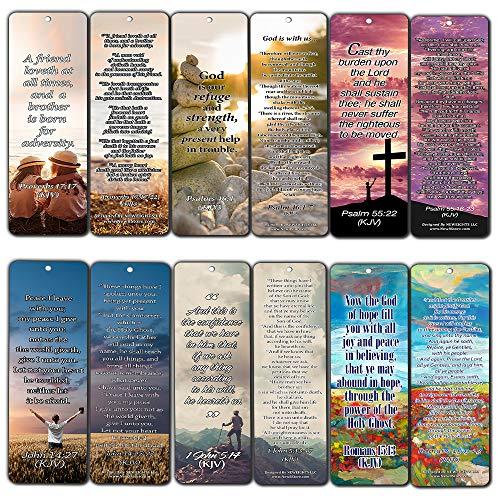 neweights Christian KJV Lesezeichen mit beliebten Inspirierende Bibel Verse KJV version (60-Pack)