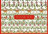 Caspari Dankeskarten mit englischsprachiger Aufschrift Thank You, 12 Tage, mit Umschlägen