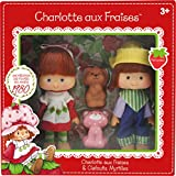 Kanaï Kids - KKCF2HUC - Charlotte Aux Fraises Classique - Poupées Charlotte Aux Fraises & Clafoutis Myrtilles...