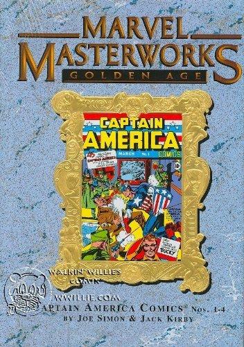 MARVEL MASTERWORKS Volume 43 [Variant Cover, Golden Age] CAPTAIN AMERICA 1-4 by Jack Kirby (2005-05-03) -