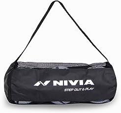 Nivia 784 Polyester Ball Carrying Bag for 3 Balls (Black)