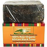 Rise 'N Shine Raw Organic African Black Soap, 16 oz. by Rise 'N Shine Online