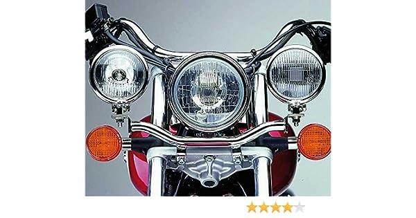 Lampenhalter f/ür Zusatzscheinwerfer VT 125 Shadow 99-07 chrom