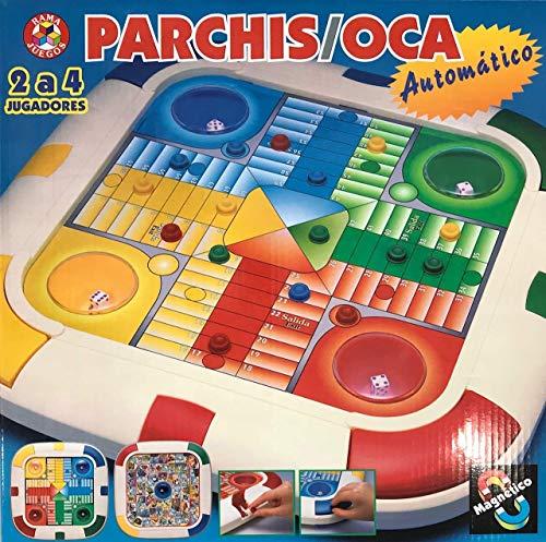 Rama - Juego Parchís y Oca automático y magnético, Multicolor