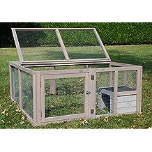 Enclos tortue for Enclos exterieur pour lapin
