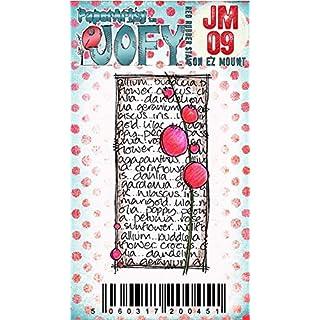 Paper Artsy JOFY Mini Rubber Stamp on Ez mount - Mini JOFY 09