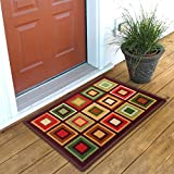 #7: Status Taba Polyproplene Door Mat ,Multicolor