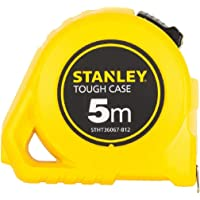 STANLEY STHT36127-812 5 Meter Plastic Short Measuring Tape (Yellow)
