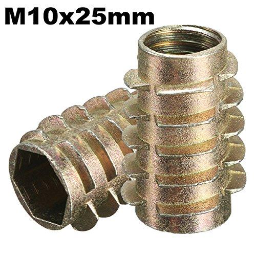 ChaRLes 5Pcs tornillo de la impulsión del maleficio M10x25mm en el parte...