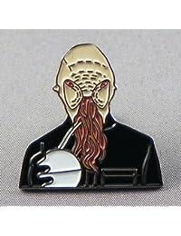 Metal Enamel Pin Badge Doctor Dr. Who Enemy - Ood