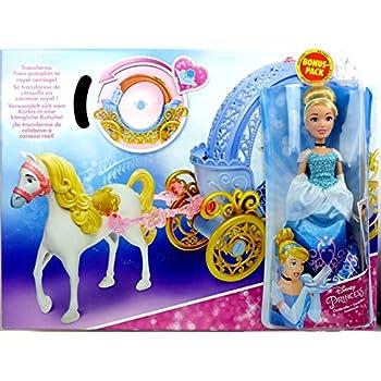 Mattel x2846 mariage couple de mari s cendrillon et son prince charmant disney princess - Jeux de ariel et son prince ...