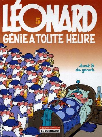 Léonard, tome 5 : Génie à toute heure