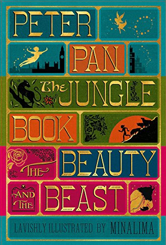 Illustrated Classics Boxed Set: Peter Pan, Jungle Book, Beauty and the Beast Classic Pan Set