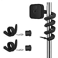 TIUIHU - Supporto flessibile Twist Mount per videocamera esterna, installazione senza attrezzi, per il sistema di…