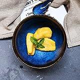 ChenDz Kreative handgemalte Keramik Geschirr Besteck Reisschüssel Suppenschüssel nach Hause