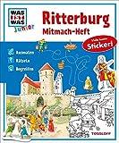 Mitmach-Heft Ritterburg: Ausmalen