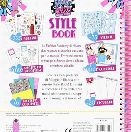 Libro style book maggie bianca fashion friends con for Disegni da stampare maggie e bianca