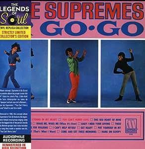 Supremes A Go Go - Cardboard Sleeve - High-Definition CD Deluxe Vinyl Replica