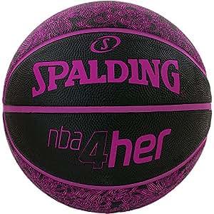 Spalding NBA 4her 83-097Z Ballon de basket Taille 6