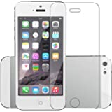 POPIO Tempered Glass for Apple iPhone 5 / Apple iPhone 5S / Apple iPhone SE 2016 (Transparent) Edge to Edge Full Screen…