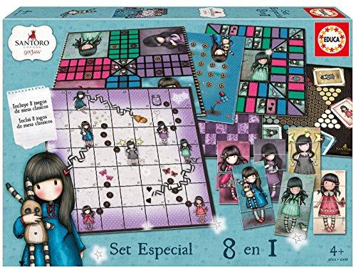 Gorjuss - Set especial 8 en 1, juego de mesa (Educa Borrás 17291)