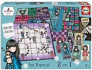 Educa Borrás - Gorjuss Set especial 8 en 1, juego de mesa (17291)
