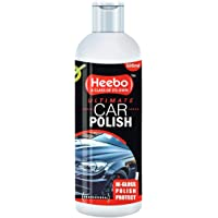 Heebo Ultimate Car Polish 500 Ml – Pack of 1 | Easy Wipe-Off | Cleaning, Shinning|Smoothness of Your car/Bike | Fast…