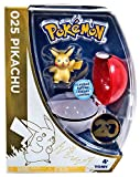 Pokemon 20th Anniversary Pikachu Figure with Metallic Pokeball