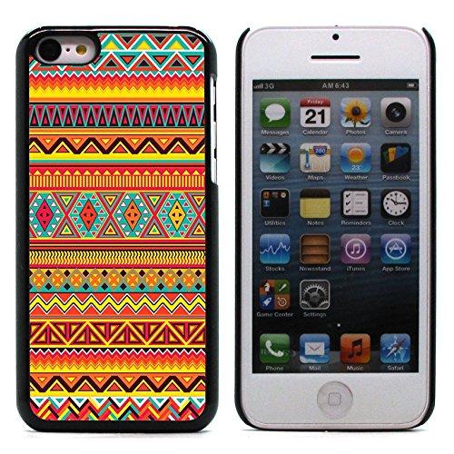 Graphic4You PLAID Muster Harte Hülle Case Tasche Schutzhülle für Apple iPhone 5C Design #7