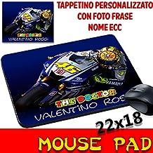 Mouse Pad VR 46 Valentino Rossi The Doctor Tappetino personalizzato con nome,foto ecc