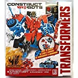 Transformers Age of Extinction Construct-Bots Dinobot Warriors Autobot Drift and Roughneck Dino Buildable Action Figures by Transformers