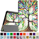 """Fintie Samsung Galaxy Tab E 9.6"""" Smart Shell Case - Ultra Slim Lightweight Stand Cover for Samsung Tab E SM-T560 / T561 / T565 9.6-Inch Tablet, Love Tree"""