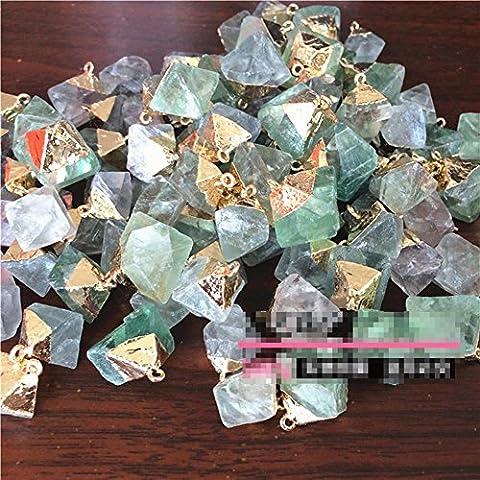 Personalisierte Goldüberzogener Kristall-Anhänger , 20mm or so