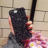 iPhone 7 Plus Hülle, iPhone 7 Plus Case, iPhone 8 Plus Schutzhülle, iPhone 8 Plus Glitzer Hülle, Ysimee Kreative Glitzer Bling Hybrid Slim PC Schale Hart Cover Protector von Scratch,Abstößt,Staub für Apple iPhone 7 Plus /8 Plus(5.5