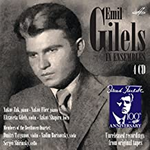 Emil Gilels In Ensembles [Emil Gilels] [Melodiya: MELCD 1002210]