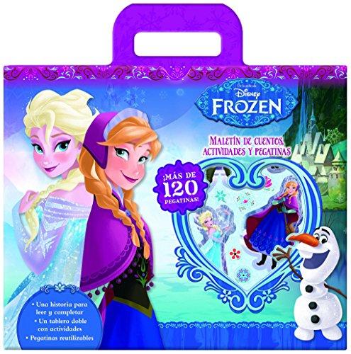 Maletín De Cuentos, Actividades Y Pegatinas (Frozen Disney)