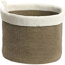 InterDesign Ellis Cesta de almacenaje, cesto de ganchillo grande en polipropileno para gafas de sol