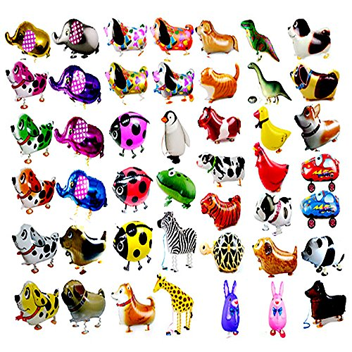 imals Balloon Kids Brithday Party Decor Children Gifts-Mixed Pets Air Walkers ()