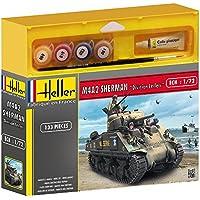 Heller - 49894 - Maquette - Char D'assaut - M4a2 Sherman - Echelle 1/72 - Kit