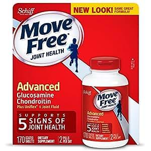 Schiff Move Free Advanced Triple Strength, 170 Count